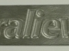 Oralieve Text on Steel Embossing Die
