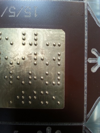 braille embossing